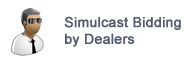Live Simulcast Auctions for Dealers